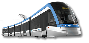 An ION LRT Vehicle